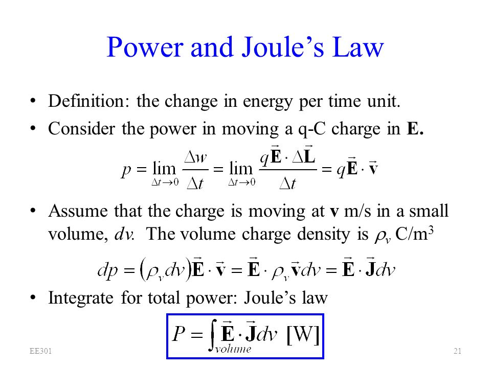 joule s law Joule's law is verified using joule's calorimeter it consists of a resistance coil r  enclosed inside a copper calorimeter (fig 31.