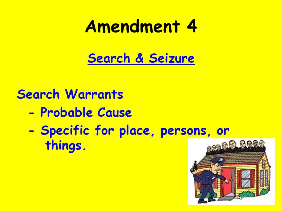 """search warrants and proable cause Responding to subpoenas and search warrants  the only requirement for a search warrant is that the government establish """"probable cause"""" to believe that valid ."""