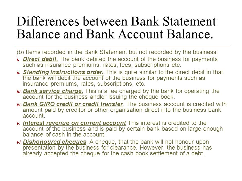 differentiate among the current account balance There is a difference between current checkbook and cash account balance for one of my bank accounts i have identified the issues, but when i make the reclass in gl, it does not reflect on the balance sheet, but gets updated to the trial balance.