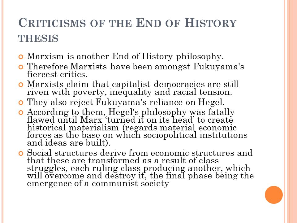 thesis on history Short, sweet and to the point: thesis statements the writing of the thesis statement department of history.