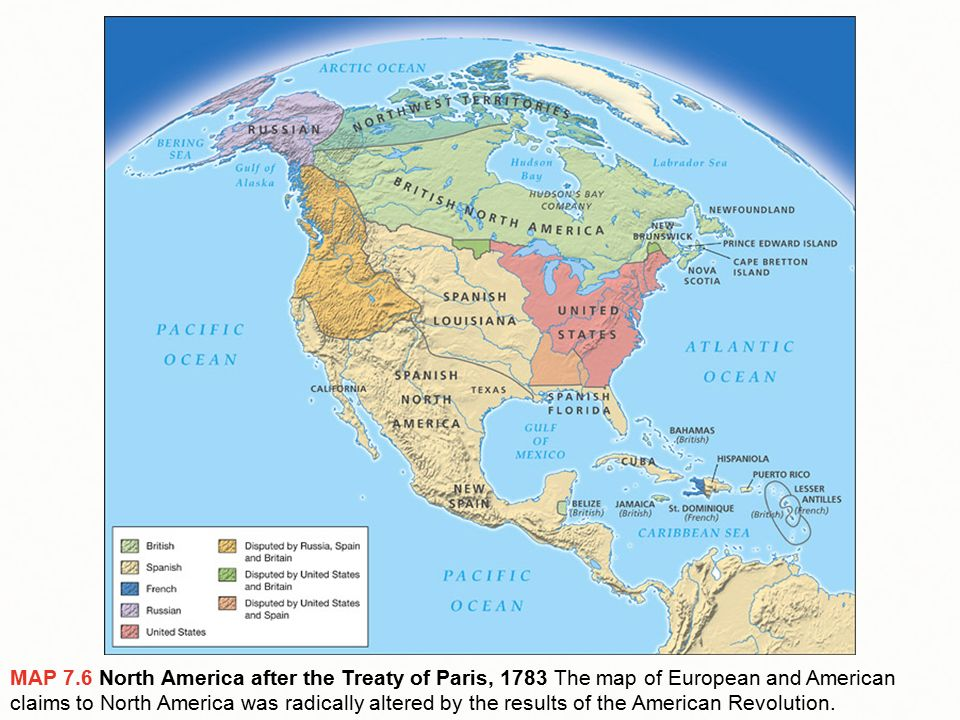 The American Revolution Ppt Download - Map of us after revolutionary war