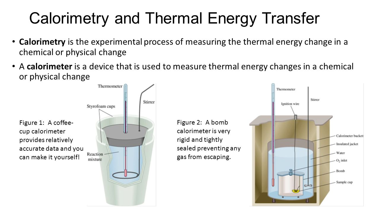 calorimeter process 2016-6-29  calorimetry – experiment a enthalpy of formation of  flow into or out of a system in a constant-pressure process  calorimeter.