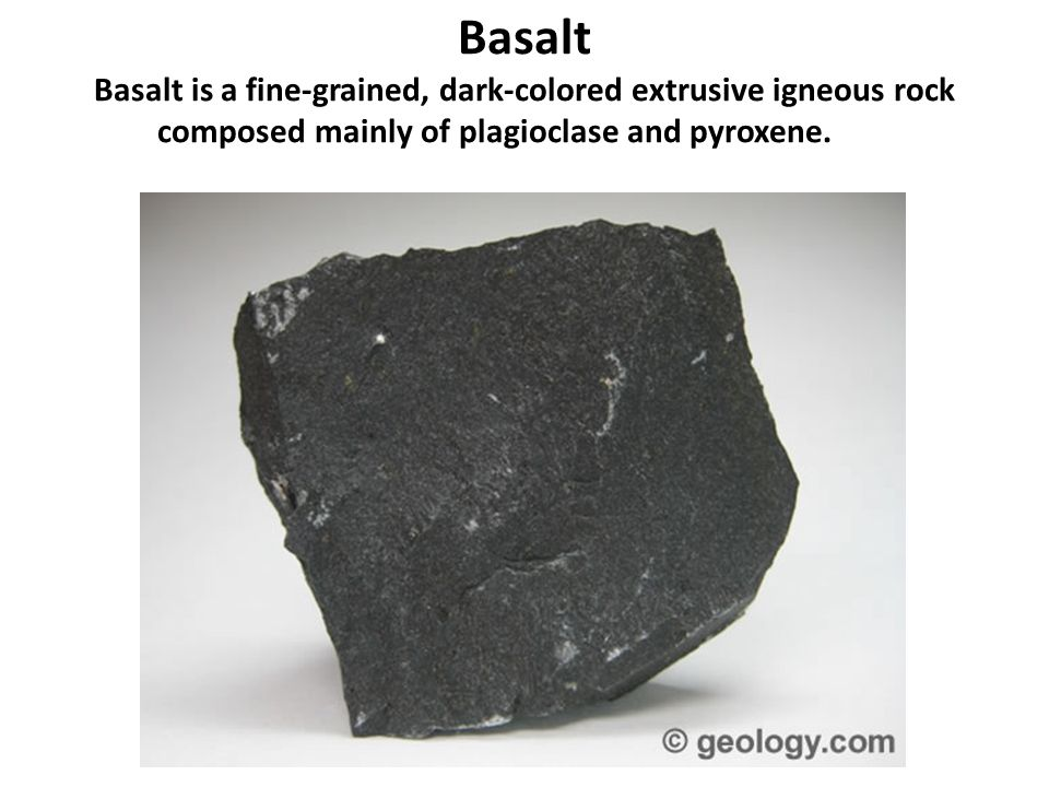 Description Of Basalt : Igneous rocks granite rhyolite diorite andesite gabbro