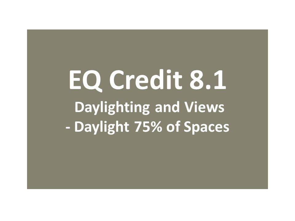 LEED NC Indoor Environmental Quality INTENT Slide Editor ...