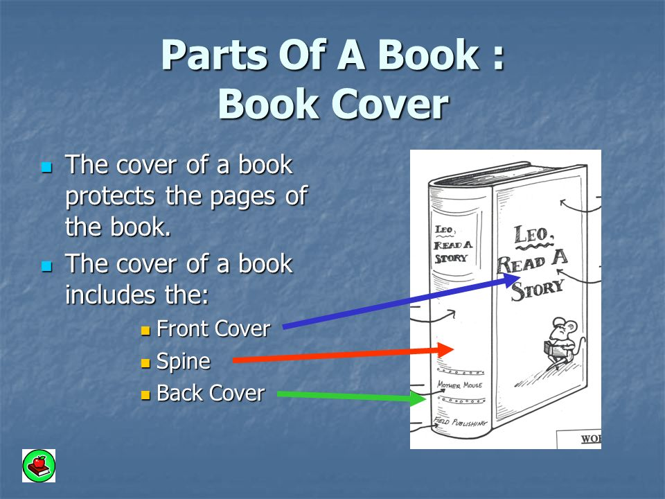 Book Cover Page Making : A book has many parts grade mrs ramseier ppt video