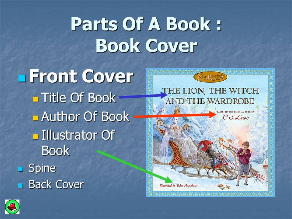 How To Make A Book Cover Using Illustrator : A book has many parts grade mrs ramseier ppt video