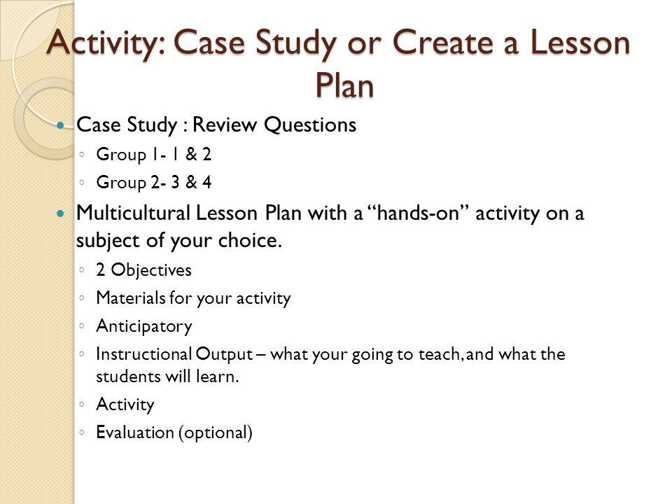 Lesson Plan Quiz