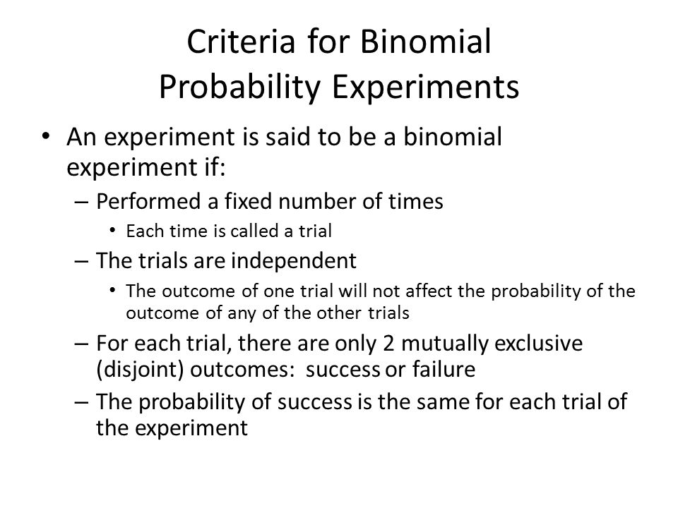 a essay on probability experiment In order to understand probability we must understand certain terms used in probability, these terms consisting of events, outcome and sample space an event is defined as a single occurring or trial of the experiment, where as an outcome is the result of an event.