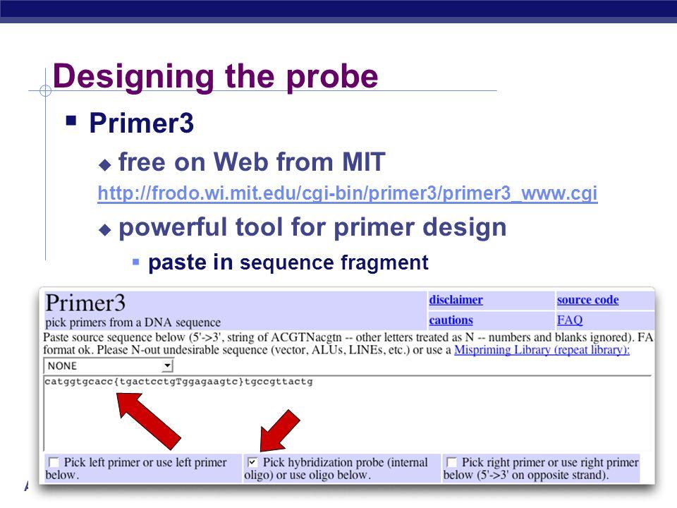 Taqman Probe Design Online Free
