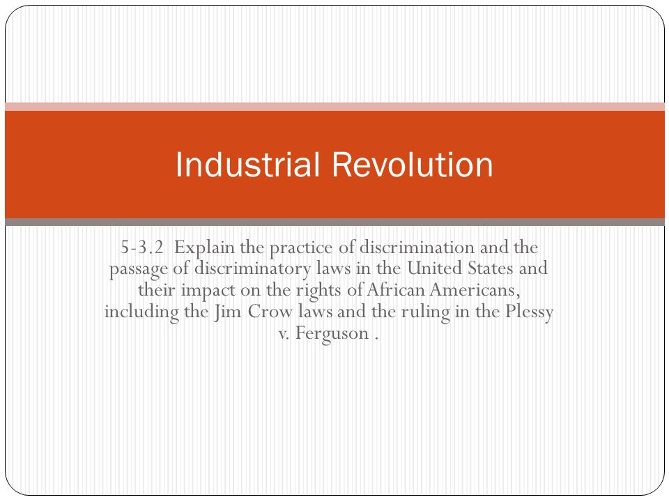 an overview of the effects of the industrial revolution in the united states The project gutenberg ebook of history of the united states  the effects of warfare on the colonies 61  the industrial revolution and national politics 307.