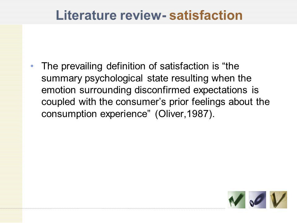 job satisfaction review of literature Job satisfaction in hotel employees: a systematic review of the literature sérgio da borralha1 saul neves de jesus2 patrícia pinto3 joão viseu4 abstract.