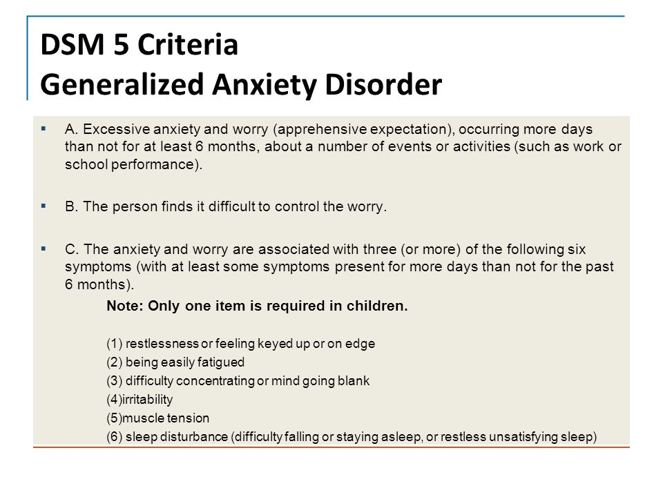 a report on generalized anxiety disorder in adolescents gad signs symptoms treatments and cure Generalized anxiety disorder is more than the normal anxiety people specific symptoms of generalized anxiety disorder 9 signs of psychological and.