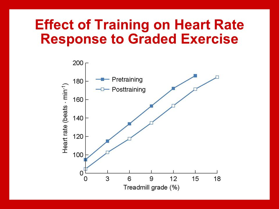 The Effect of Exercise on Heart Rate