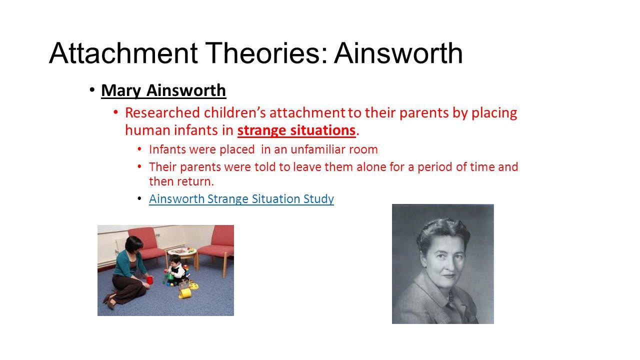 Mary Ainsworth Strange Room Study
