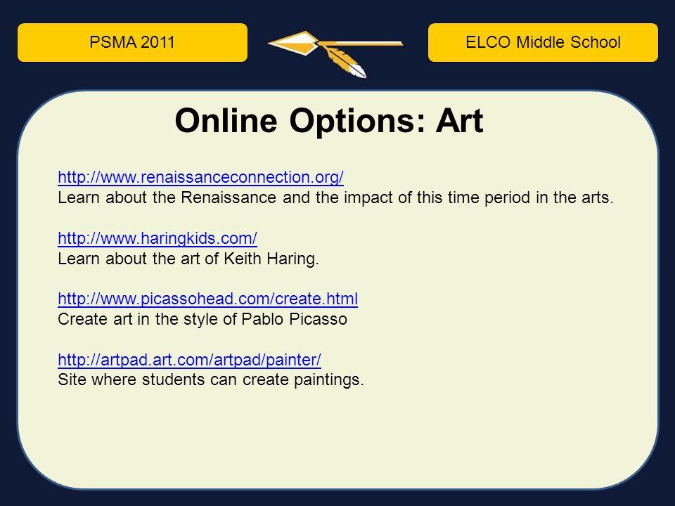 Online middle school options