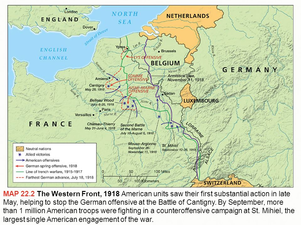 Chapter 22 World War I...