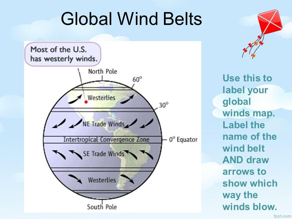 Global Winds Jet Stream ppt download – Global Winds Worksheet