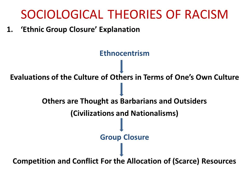 sociological explanations for ethnic inequalities in Sociological explanations of racial-ethnic inequality functionalism sociological explanations of racial-ethnic inequality conflict theorists see ongoing strife between dominant and minority groups dominant groups protect their power and privilege.