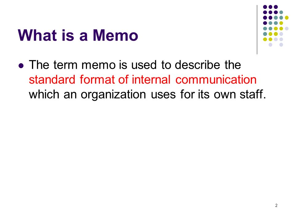 What Is Memo Used For  SaveBtsaCo