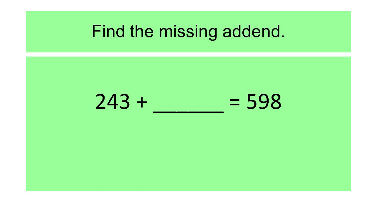 worksheet Addend addend 4s multiplication worksheet one step algebra equations multiplying and dividing with exponents rounding find the missing addendhtml