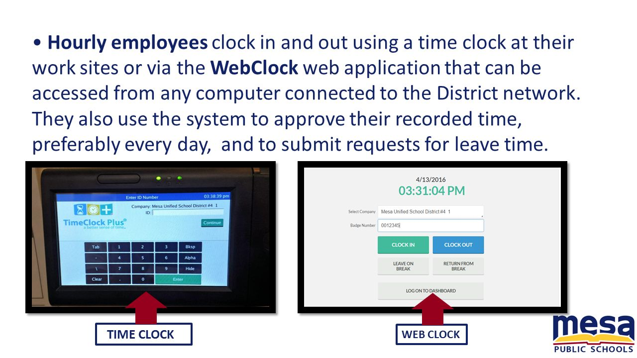Login ceridian time professional - Hourly Employees Clock In And Out Using A Time Clock At Their Work Sites Or
