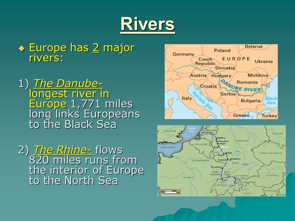 The Peninsula Of Peninsulas Ppt Video Online Download - 2 major rivers