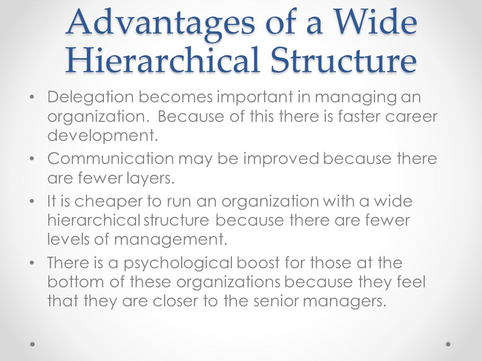 10 Benefits of a Good Organizational Structure – Explained!