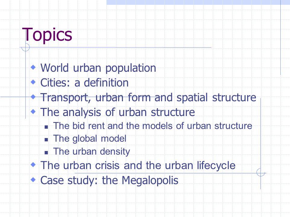 Economic Geography 6 – Urban analysis - ppt video online download