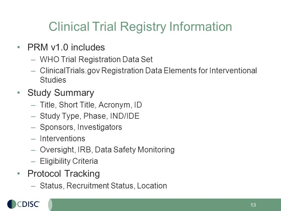 ClinicalTrials.gov Final Rule (42 CFR Part 11) Information