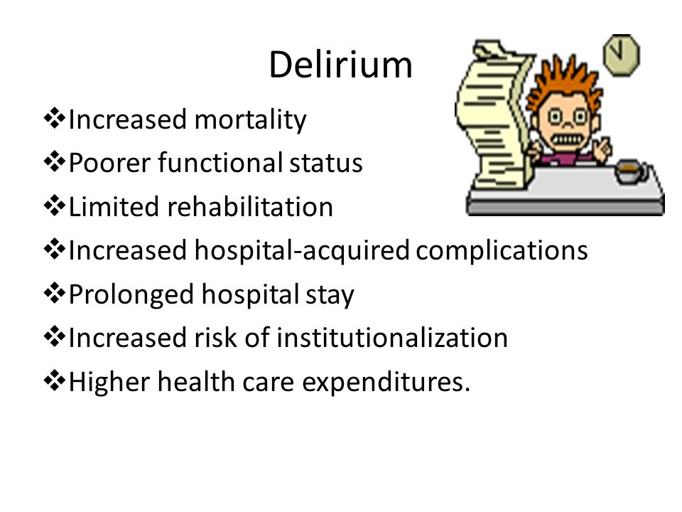 Delirium in the intensive care unit