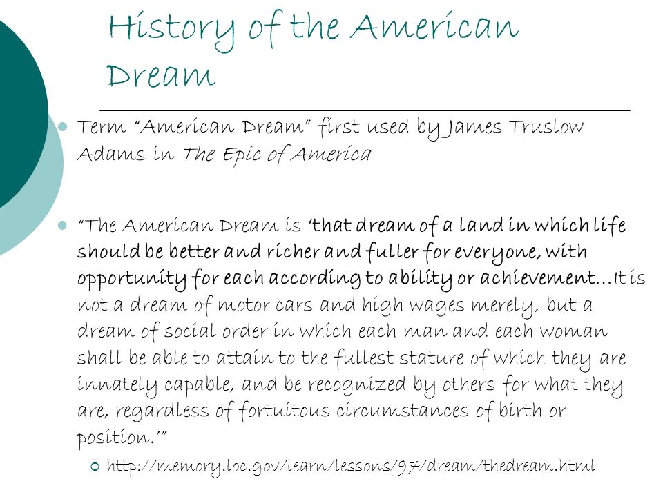 american dream by james truslow essay American dreams is quite a rare and popular topic for writing an essay,  american experience asian american dreams:  dream' was first coined by james truslow.