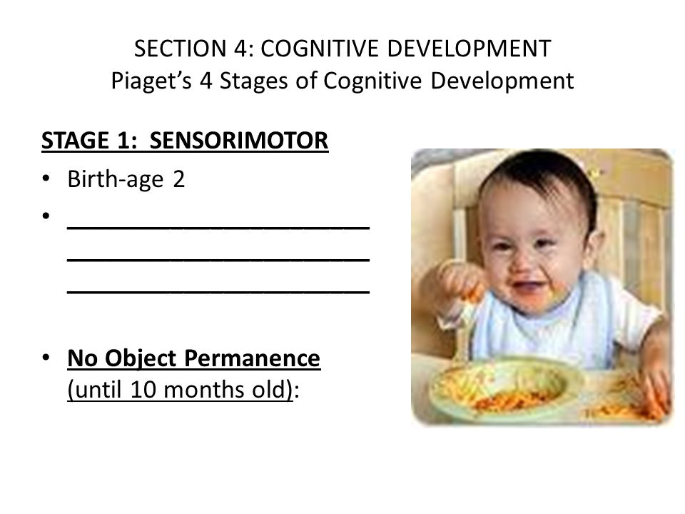 stages of cognitive development pdf