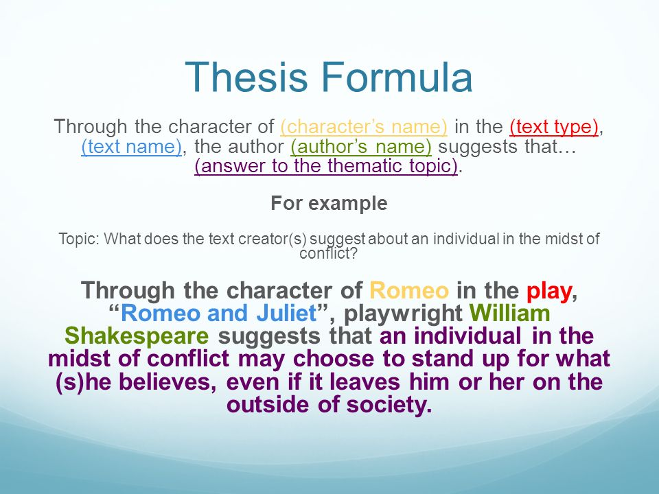 third reader thesis Analyze the text as an individual reader and the main thesis of the text when writing a reader response.