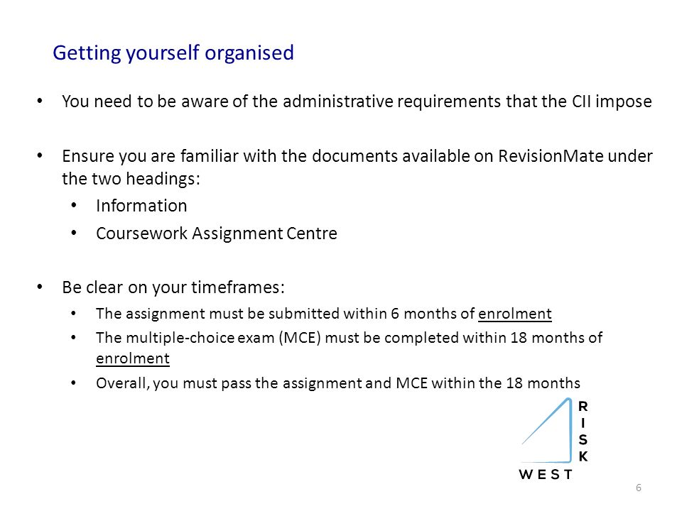 Cii coursework assessment
