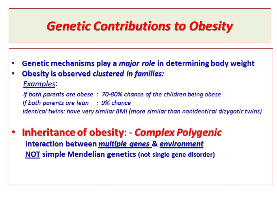 genetics of obesity Serious science -   epidemiologist nick wareham on leptin, type 2 diabetes, and genome-wide association studies http://serious.