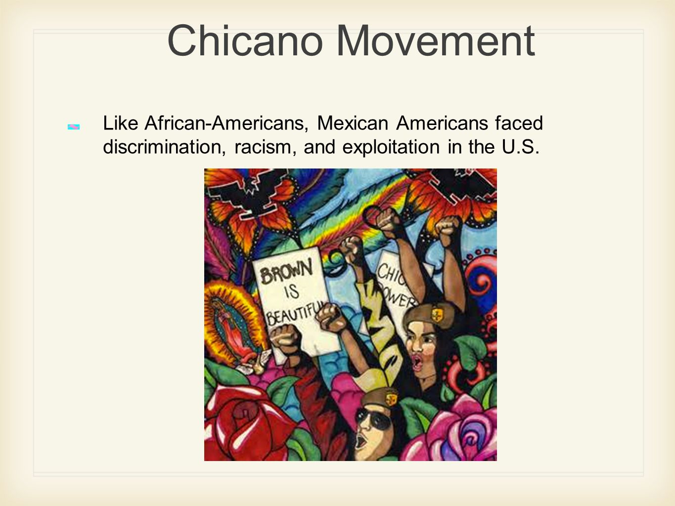 discrimination and chicano 2017-6-13  american civil rights movement: american civil rights movement, mid-20th-century mass protest movement against racial segregation and discrimination.