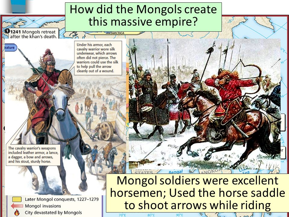 mongols and there success empire How did the mongols build an empire  in their path: they enjoyed an  unprecedented, and yet-to-be-repeated, 15-year run of bountiful rains.