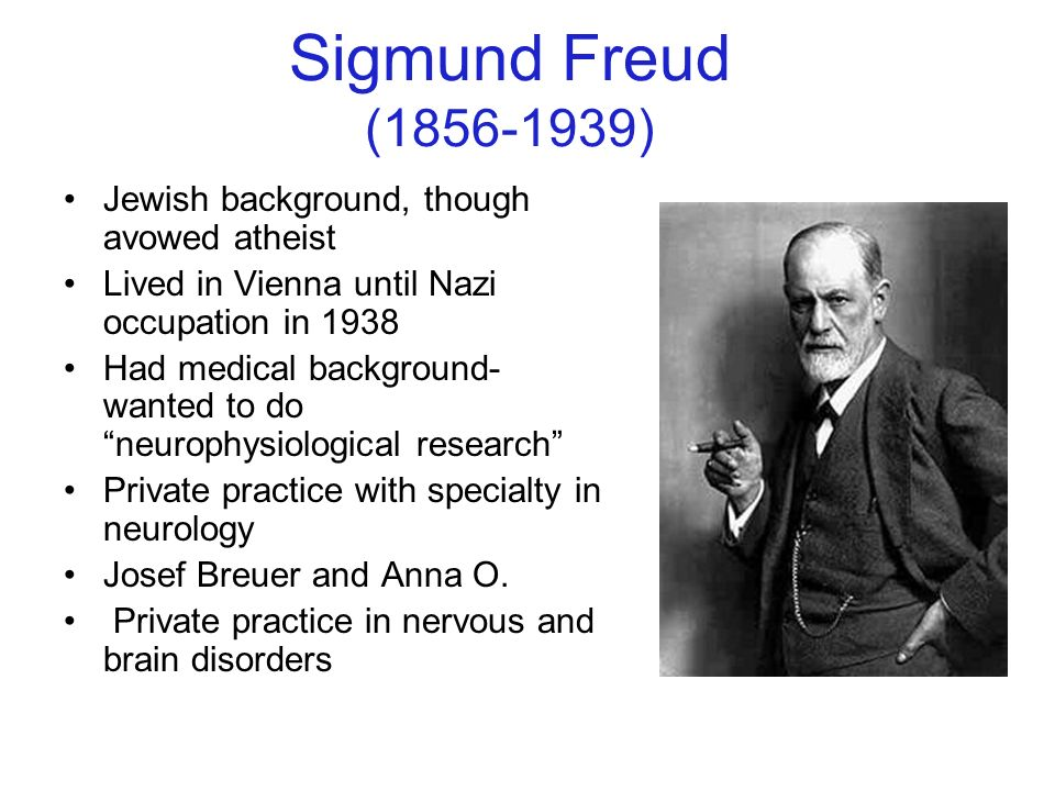 Freud Sigmund Develop What Did Theory