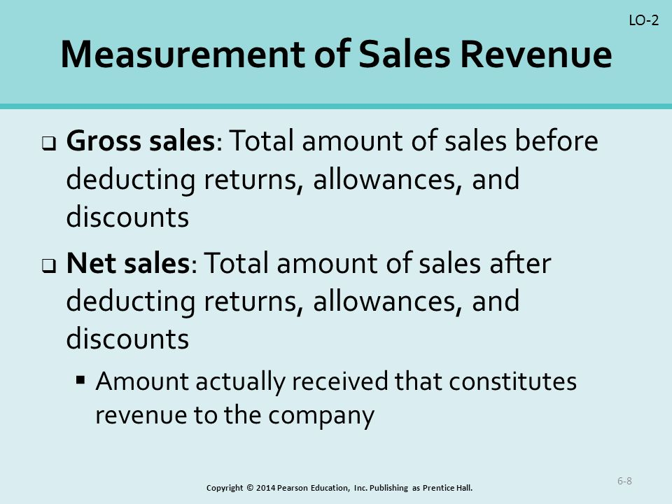 how to find sales revenue in accounting