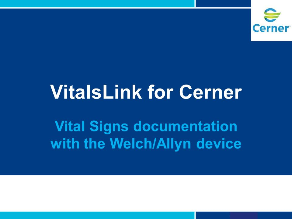vital signs documentation with the welch/allyn device - ppt video, Powerpoint templates