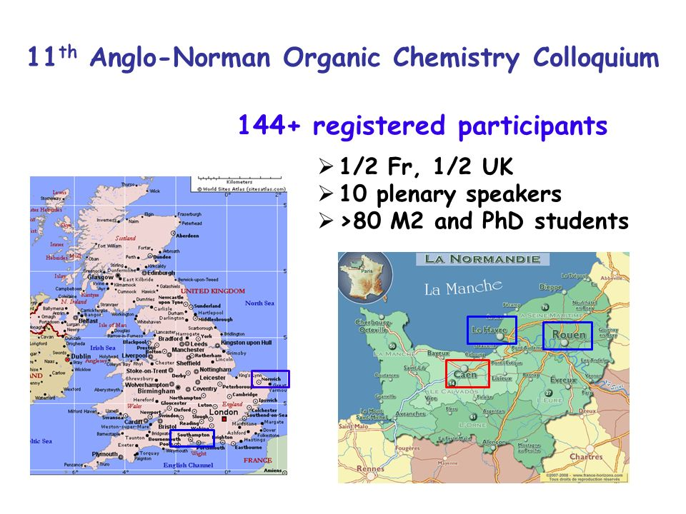 11th Anglo-Norman Organic Chemistry Colloquium