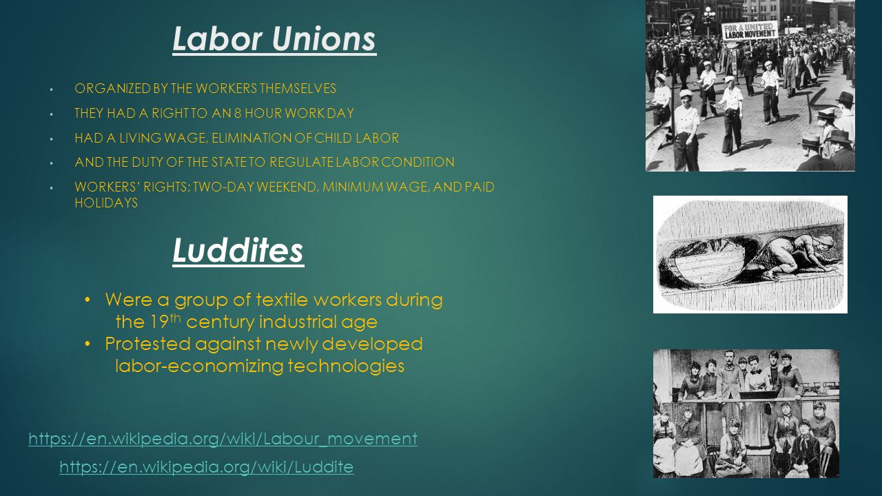 Disadvantages of Labor Unions