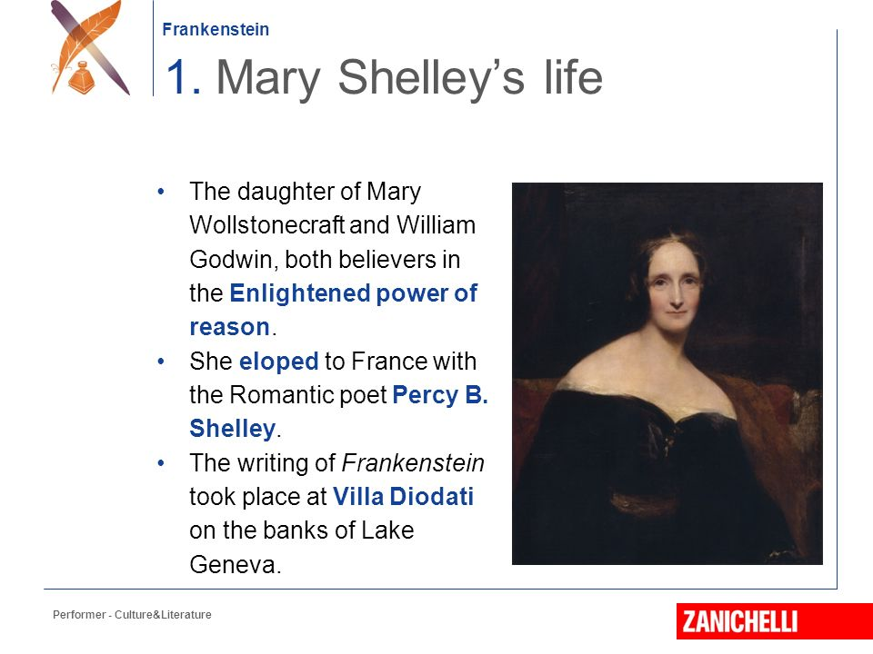 the life of mary wollstonecraft godwin Mary wollstonecraft shelley (née godwin 30 august 1797- 1 february 1851)  was a prolific english writer, and the offspring of distinguished parentage: her.