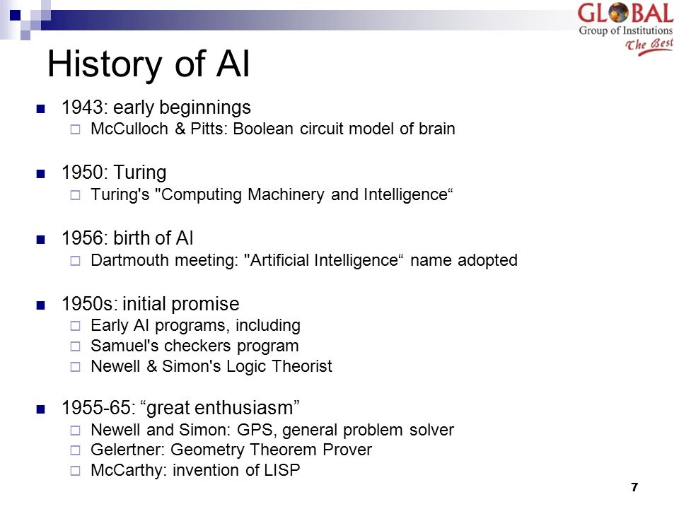 the advancement of artificial intelligence in history Is artificial intelligence and you only have a minute, then here's the definition the association for the advancement of artificial intelligence aitopics.