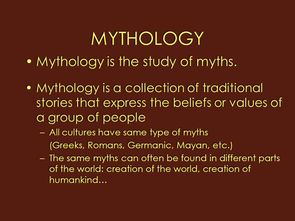 What can we learn from creation myths
