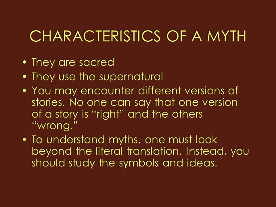 an analysis of myths and stories The challenge to comparative mythology the last chapter showed that, by the middle of the nineteenth century, mythology was dominated by a comparative mythology, an analysis of myth that takes place in libraries rather than in the field.