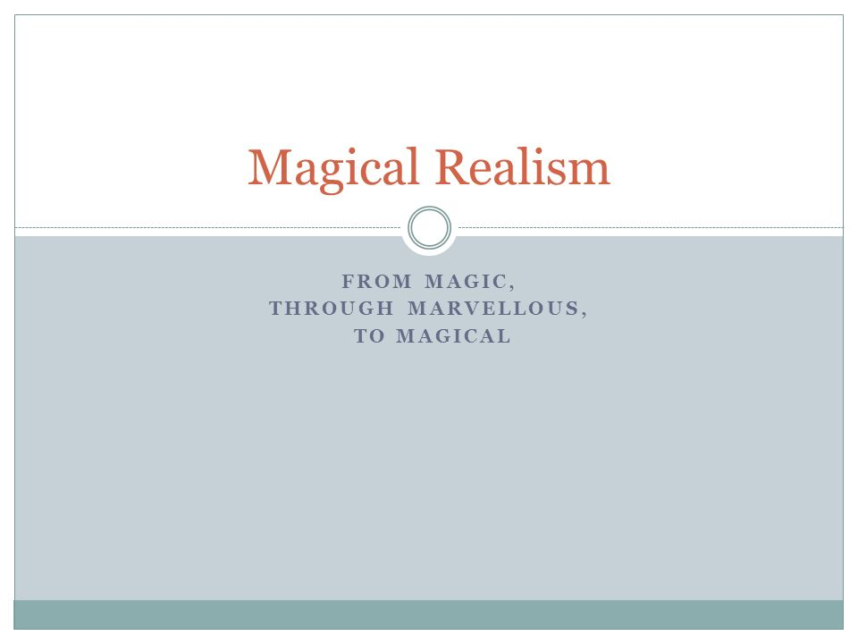 magical realism essay like water for chocolate magical realism  magic realism essay magical realism essay the masters review interview aimee bender slideplayer
