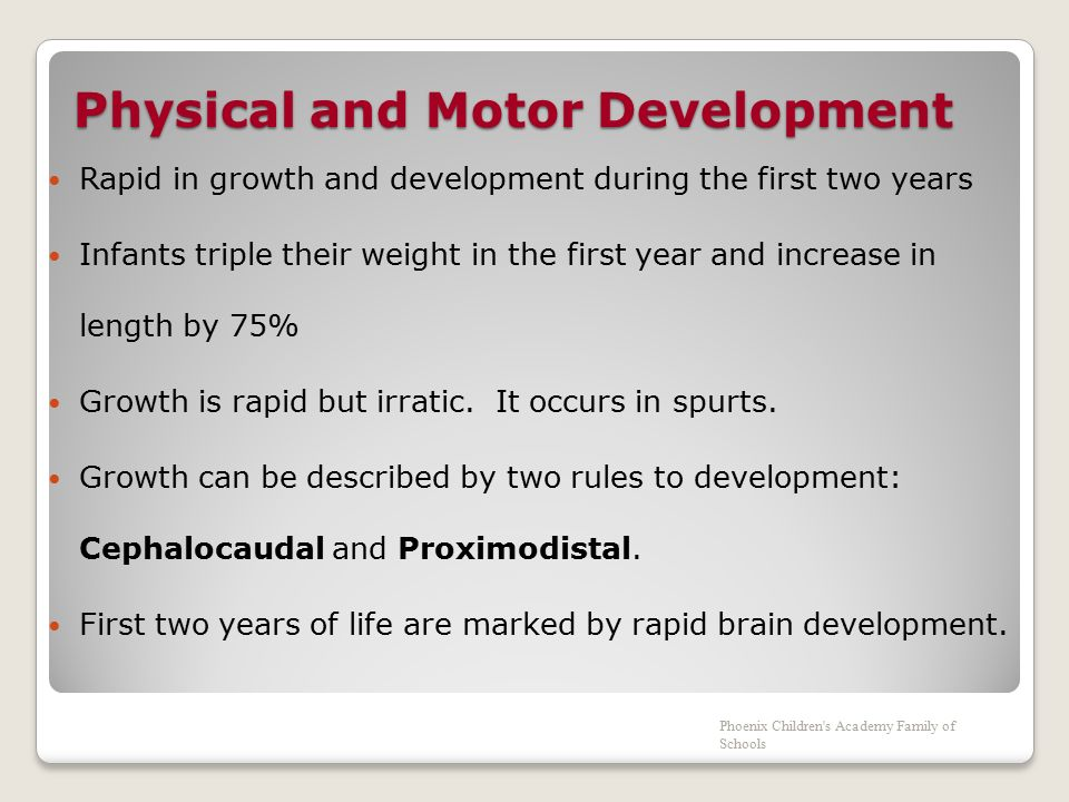 Motor play for infants and toddlers ppt video online for Physical and motor development in early childhood