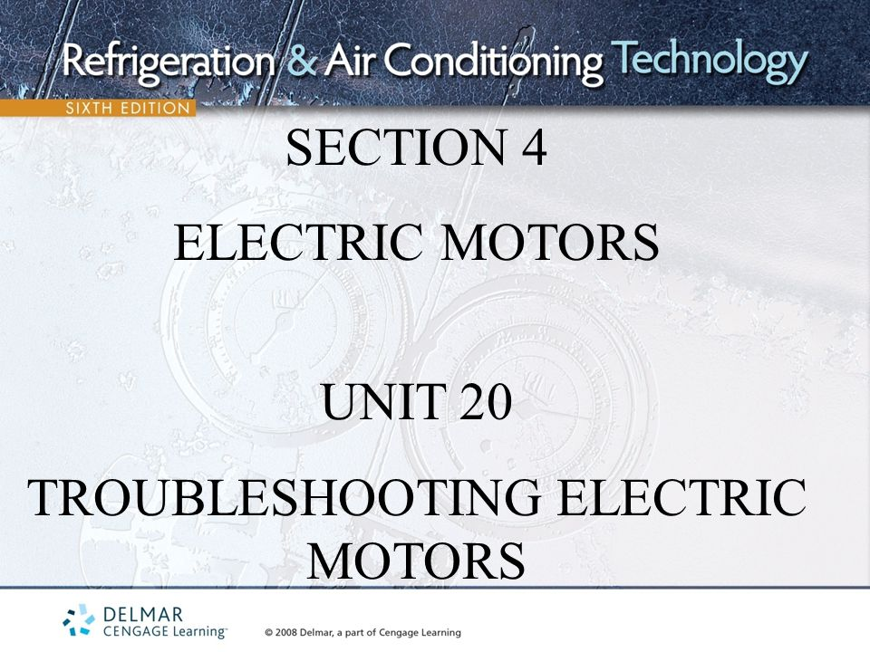 Troubleshooting Electric Motors Ppt Video Online Download