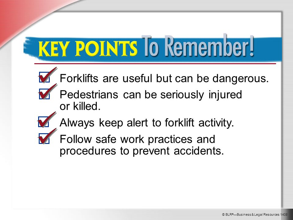 Forklifts And Pedestrian Safety Ppt Video Online Download
